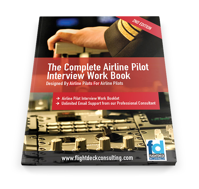 Airline Pilot Interview Preparation Book Flightdeck Consulting Airline Interviews Pilot Recruitment